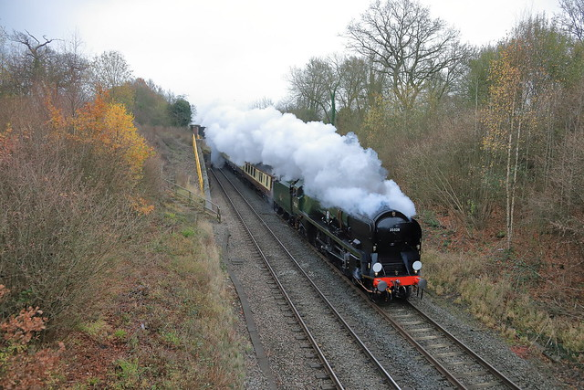 Steaming 35028 'Clan Line'