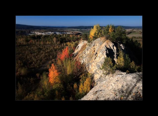 Herbstfelsen
