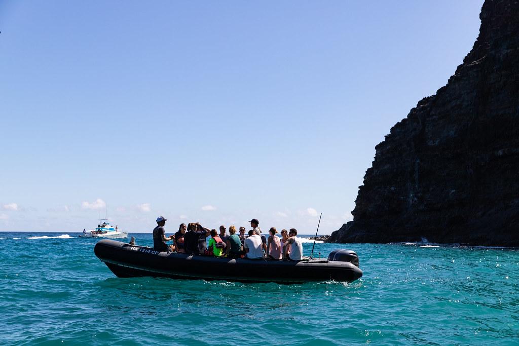 Boat Tour Na Pali Coast Kauai Hawaii Dronepicr Flickr