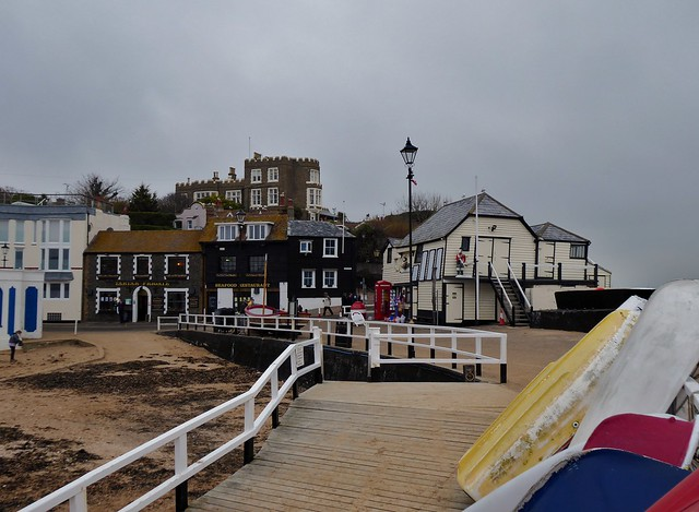 Bleak House Broadstairs from the jetty