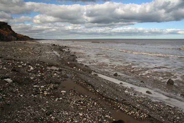 The beach near Aldbrough