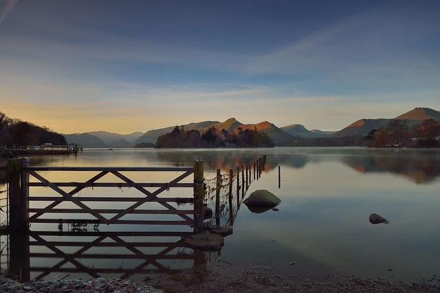Daybreak on Derwent