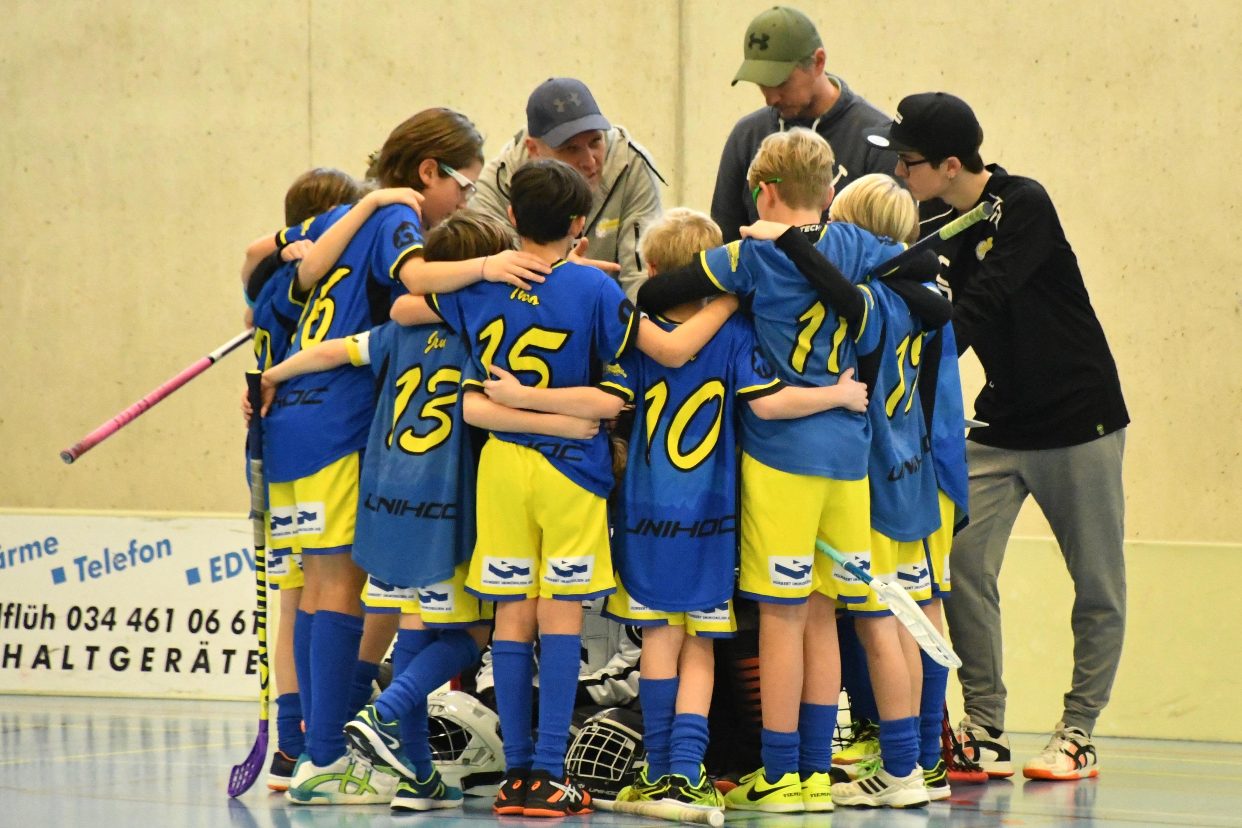 Junioren  D ll - UHT Schüpbach l, Saison 2018/19