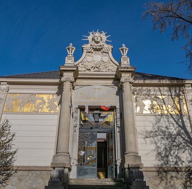 Palace of Arts (Szcezpanski Square) Art Noveau Style ( 1901) Krakow (Panasonic Lumix LX100-II) (1 of 1)
