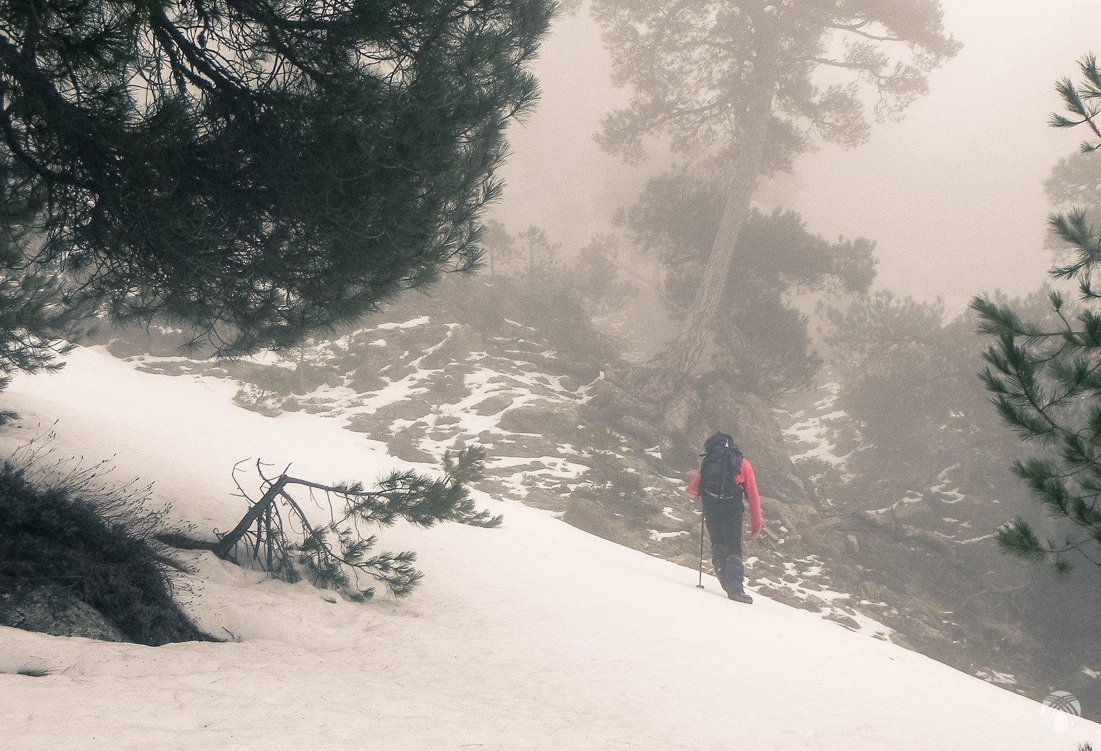 Primeras pendientes de nieve