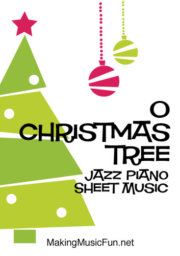 O Christmas Tree Free Easy Jazz Piano Sheet Music Pdf Flickr