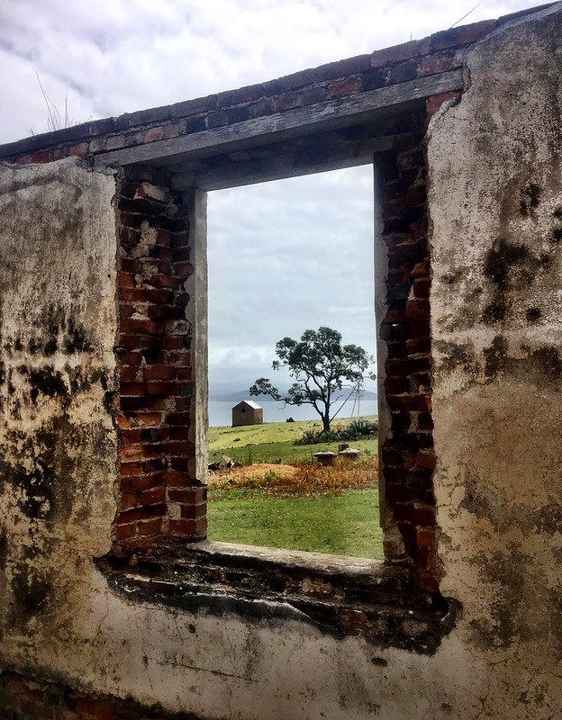 Ruins. Maria Island.