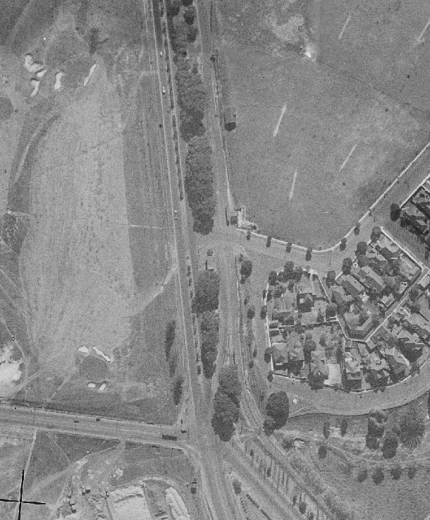 Alison Road Tramway Junction, Kensington, Sydney, NSW.