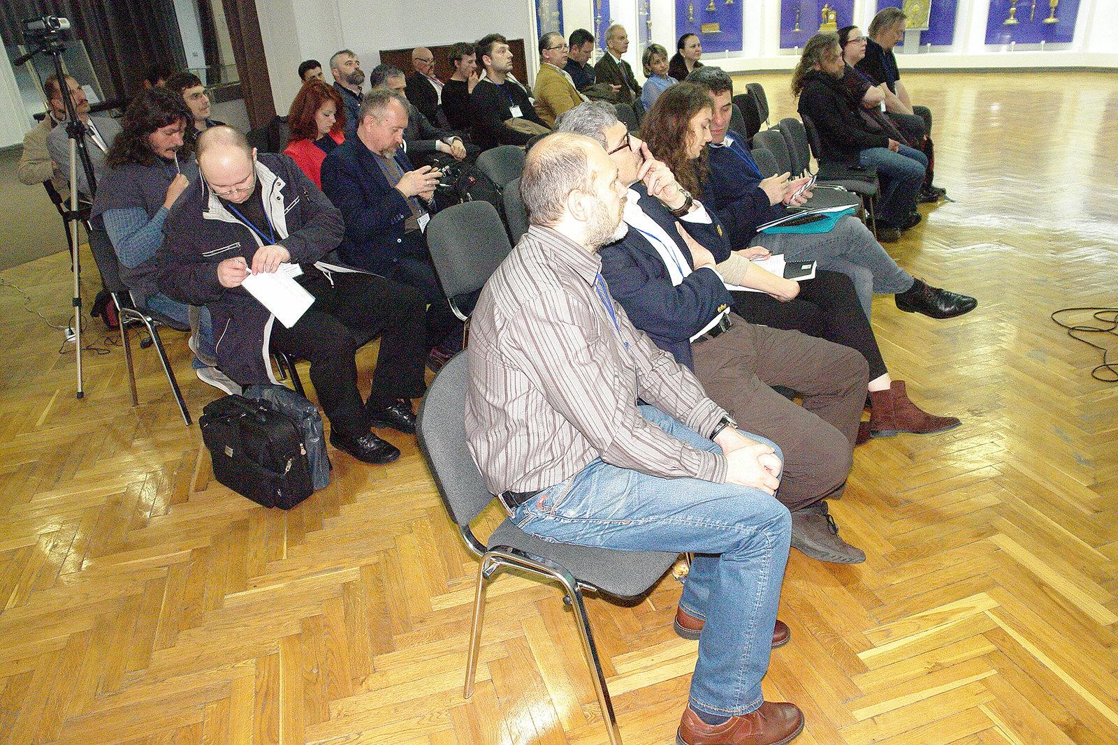 Другий день конференції у Національному музеї історії України.