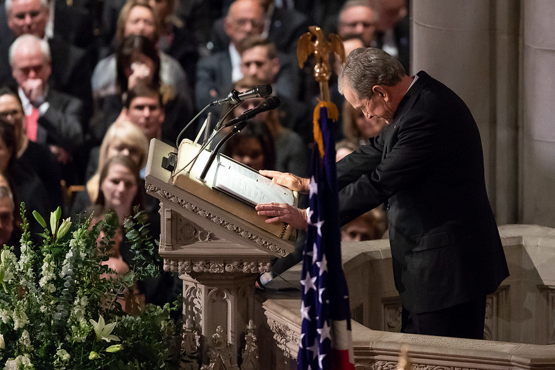 The Funeral of President George H.W. Bush