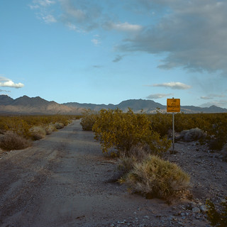 road not maintained. mojave desert, ca. 2013. | by eyetwist