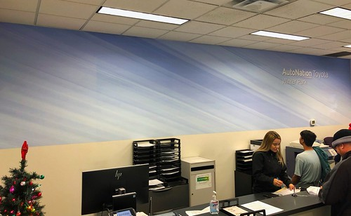 Wall wrap by TechnoWraps.com in Orlando