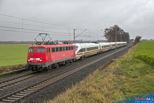115 459 DB . Rommerskirchen  . 05.01.19.