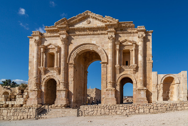 HADRIAN'S ARCH: THE GATE TO JERASH