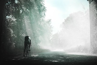cycling in  the morning | by wheelsgo