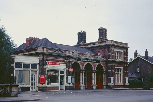 Exterior of North Dulwich station in 1972 | by Tom Burnham