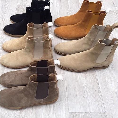 Chelsea Boots. Handmade.   by marcwenn