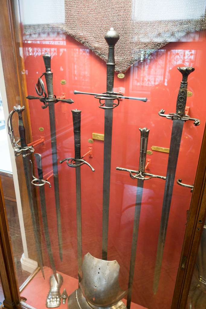 German longswords   Wallace Collection, London, 2017