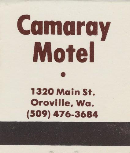 vintage matchbook motel hotel matchcover washington