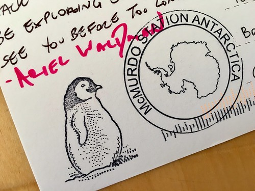 A postcard from Antarctica—thank you, @ArielWaldman! | by adactio