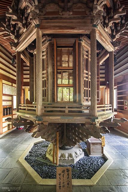 Hase-dera Temple Praying Wheel - Kamakura (Japan)