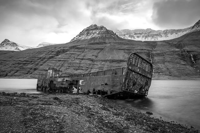 Mjóifjörður - The wreck