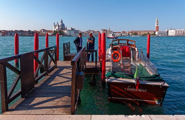 Venice / Fondamenta S. Giacomo / Terminal boat Bauer / Sotoriva