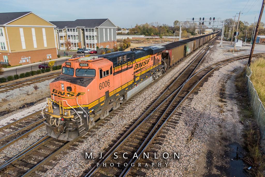 BNSF 6006 | GE ES44AC | BNSF Thayer South Subdivision | Flickr