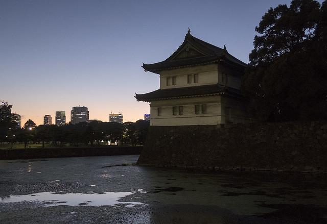 Tatsumi-yagura, Tōkyō Imperial Palace, Chiyoda, Tōkyō, Japan
