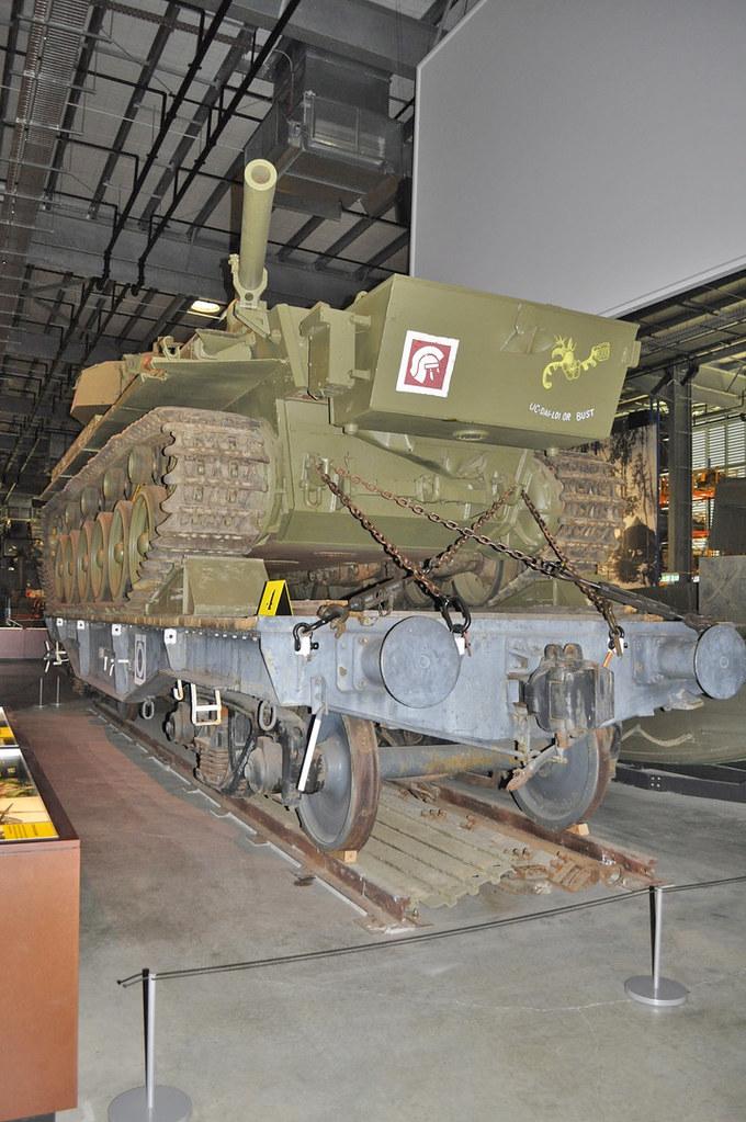 Centurion Tank on rail wagon TE 11200 Holsworthy 13-11-2018
