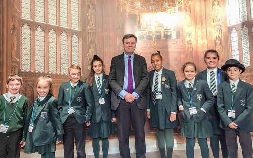 Greg welcomes St Joseph's RC Primary School to Parliament   by Greg Hands