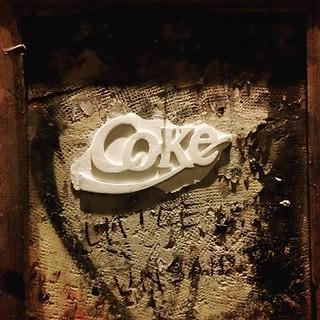 JP MALOT Coke Art . PARIS STREET.