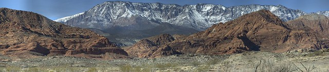131 Megapixel panorama Red Cliffs, Utah