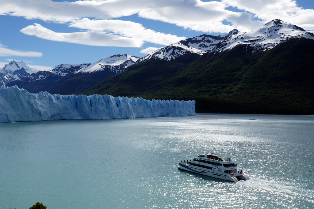 Boat Heading to Glacier