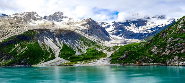 Colors of Glacier Bay