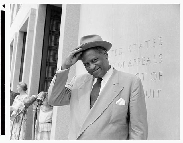 Court denies Paul Robeson a passport: 1955