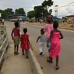Going Home from Market, Sierra Leone