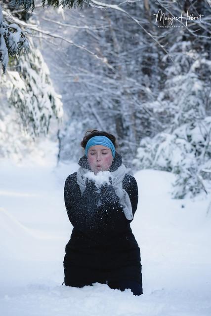 Les jeux de neige!