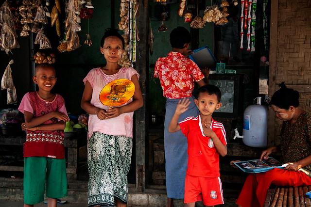A Burmese Scene