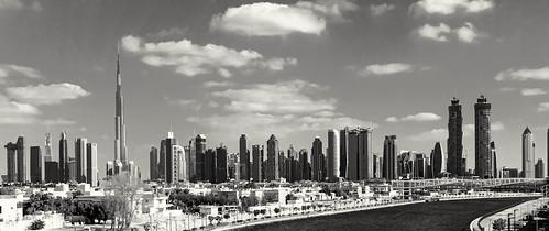 Dubai skyline | by mccrya
