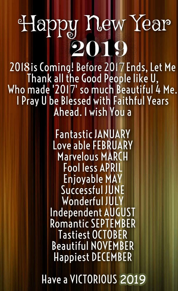 Happy new year 2019 quotes images
