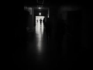 Corridor to bed   by sandklef