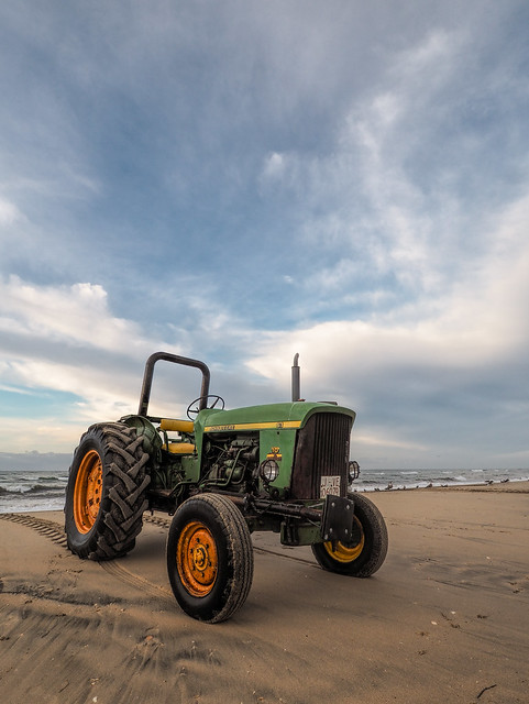 Wish you were here, with love, John Deere