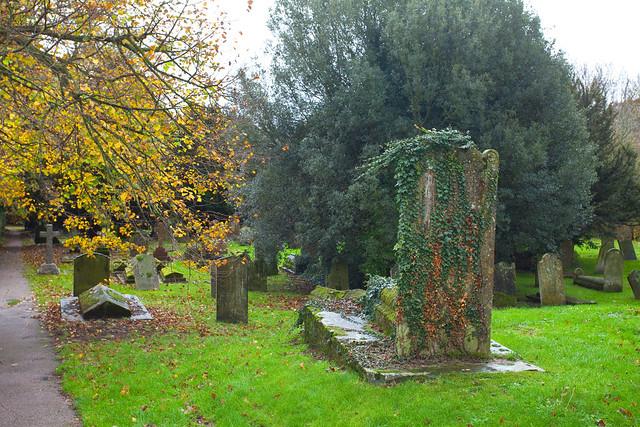 November Autumn @ Eastry Churchyard