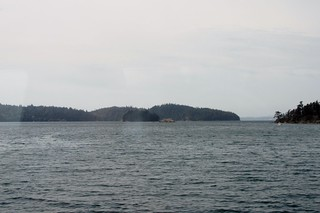 Puget Sound from the Amtrak Cascades