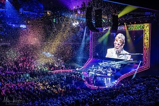 Elton John Farewell Tour at American Airlines Center in Dallas, Texas