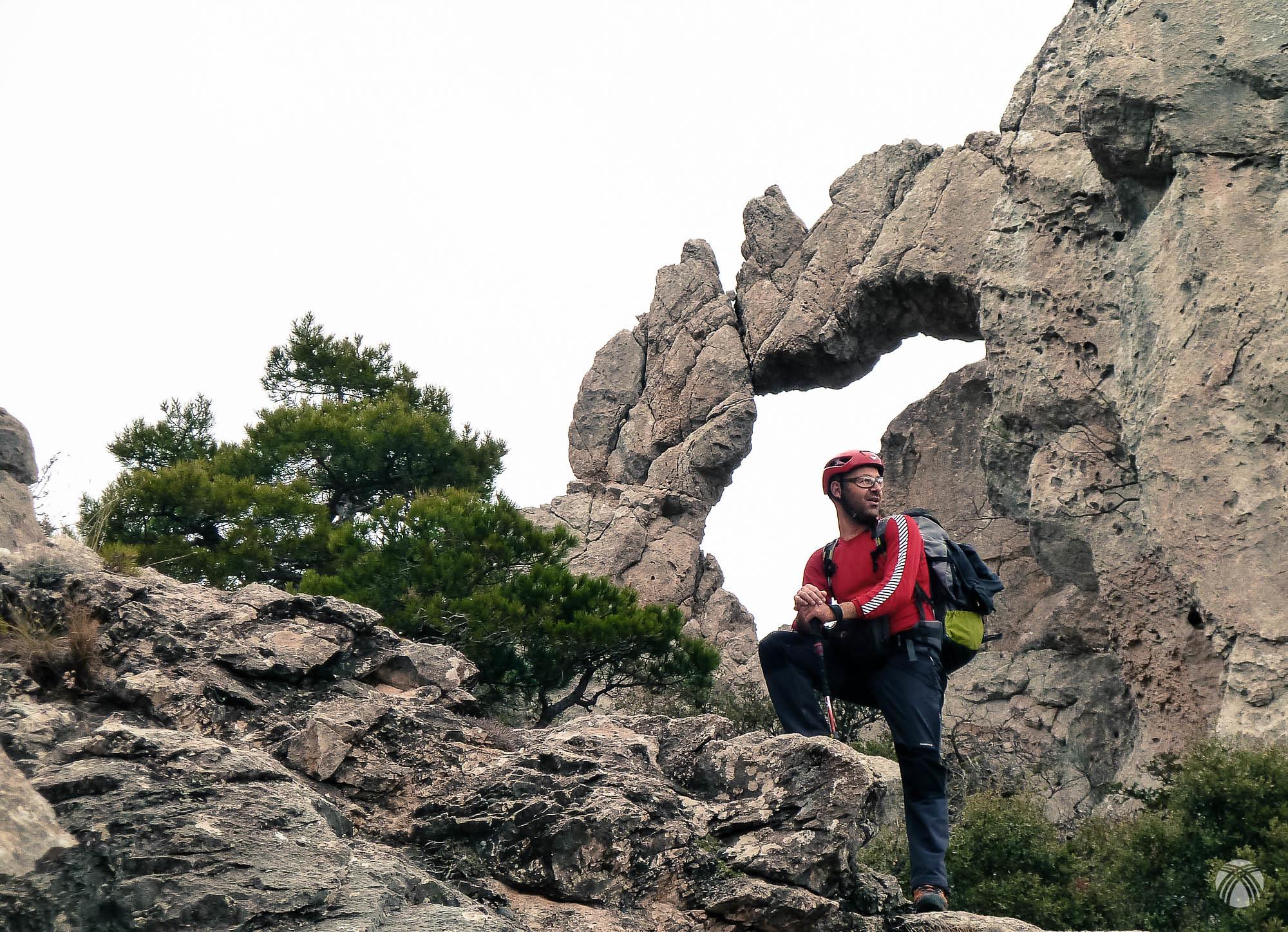Arco de roca característico