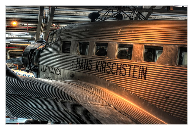 Berlin - Deutsches Technikmuseum Berlin - Junkers Ju 52-3m 05