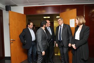La Comissió Laboral de PIMEC i els mediadors i mediadores de l'entitat al Tribunal Laboral de Catalunya,es reuneixen per debatre la Reforma Laboral.
