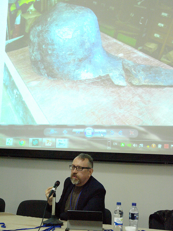 """Доповідає Юрій Бохан: """"До питання про особливості озброєння Білоруських земель Великого князівства Литовського наприкінці XIV–XV ст."""""""